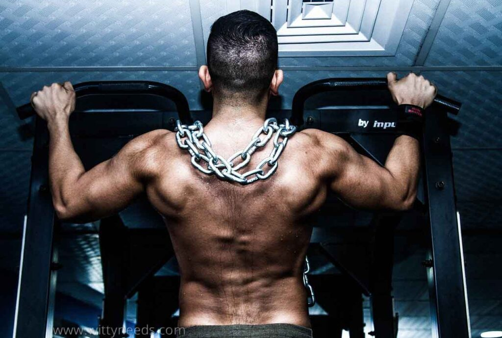 What muscle does a barbell work